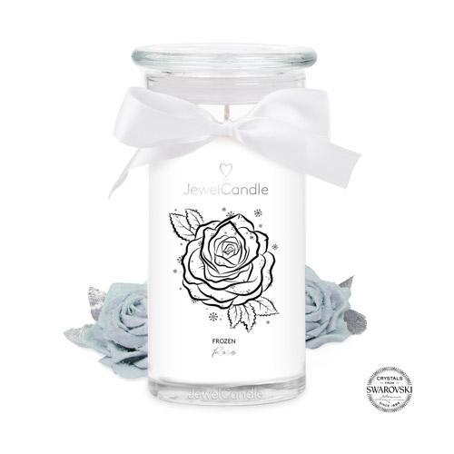 Bougie-bijou Frozen Rose - JewelCandle