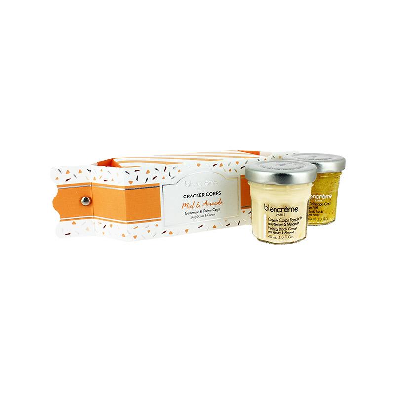 Coffret soin du corps miel et amande