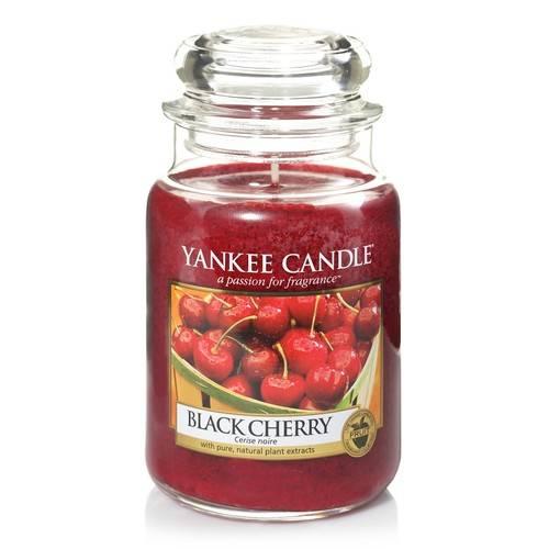 Bougie Black Cherry grande jarre