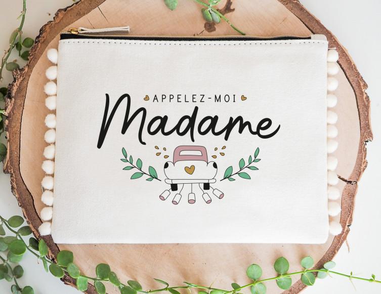Pochette mariée Appelez-moi madame