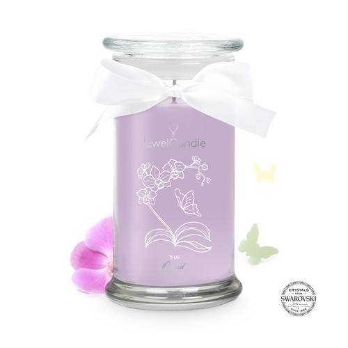 Bougie-bijou Thai Orchid (bracelet)