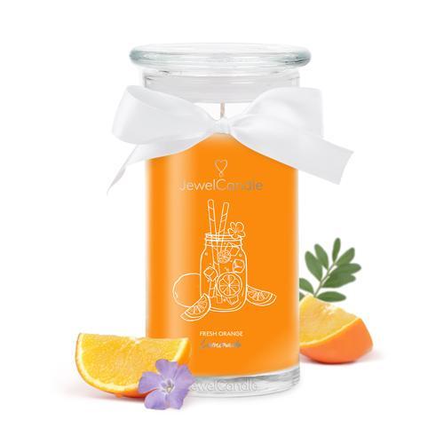 Bougie-bijou Fresh Orange Limonade (boucles d\'oreilles)