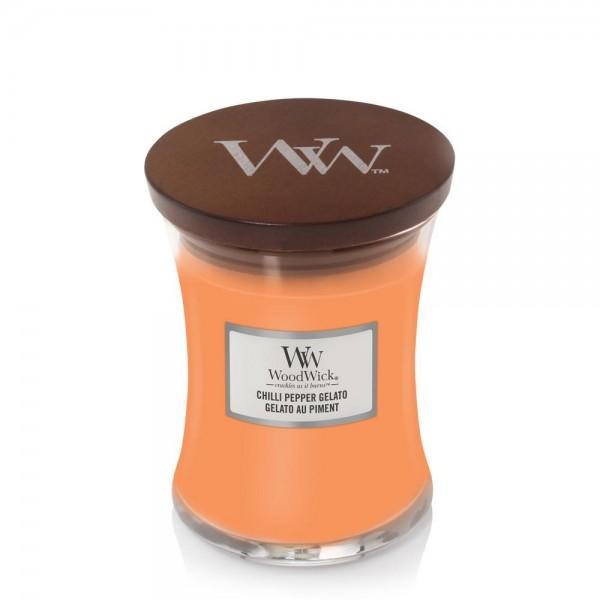 Bougie Gelato Au Piment moyenne jarre - WoodWick