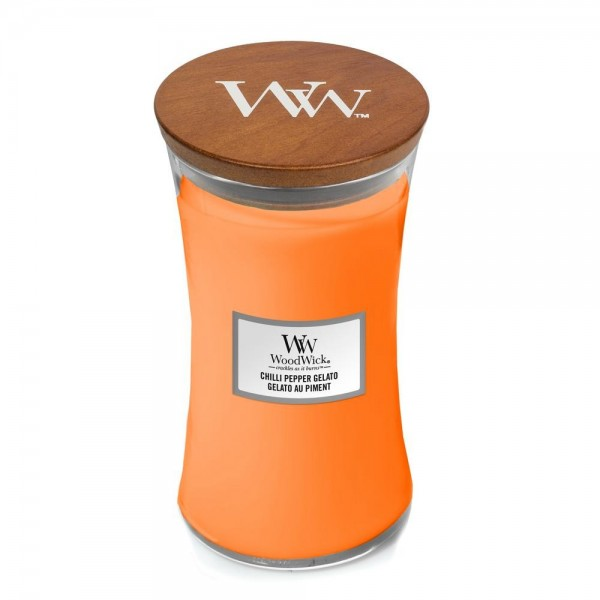 Bougie Gelato Au Piment grande jarre - WoodWick