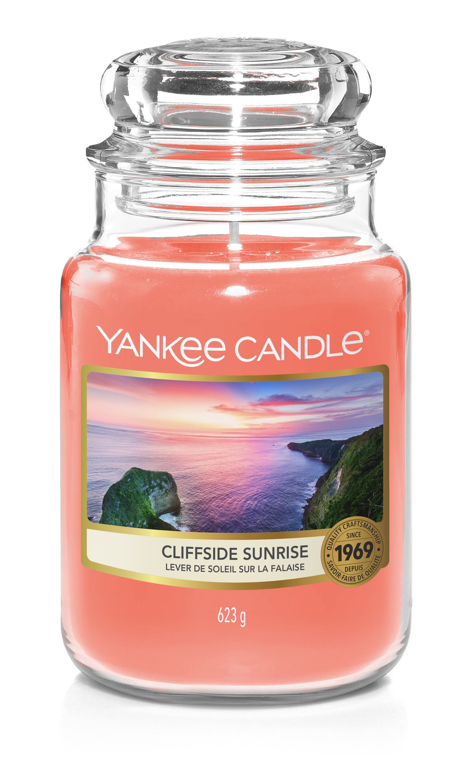Bougie Cliffside Sunrise grande jarre - Yankee Candle