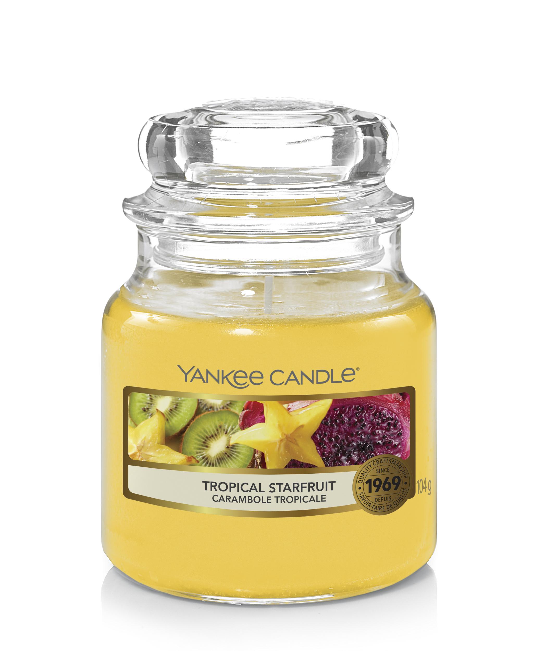 Bougie Tropical Starfruit petite jarre - Yankee Candle