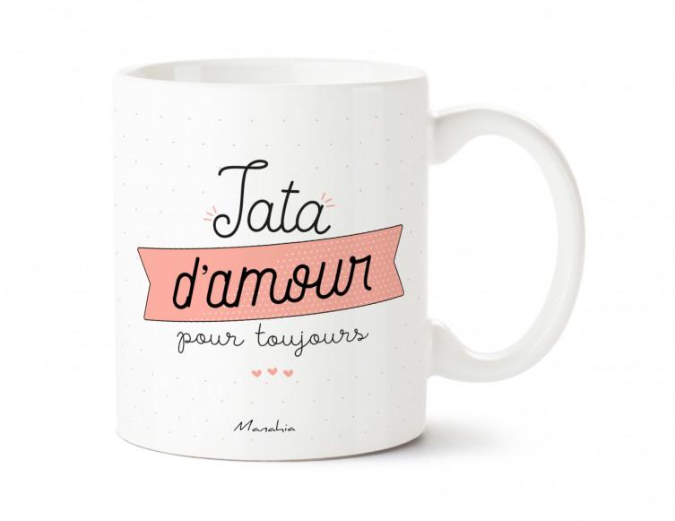 Mug Tata d'amour pour toujours 1