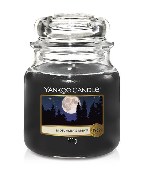 Bougie Midsummer's Night moyenne jarre - Yankee Candle