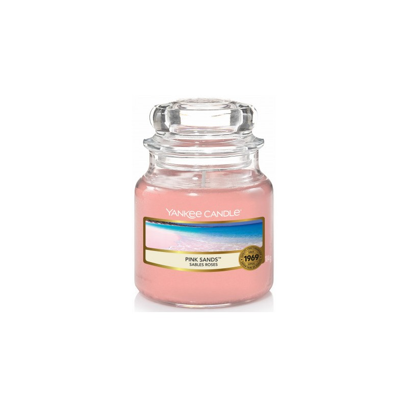 Bougie Pink Sands petite jarre - Yankee Candle