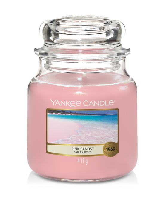 Bougie Pink Sands moyenne jarre