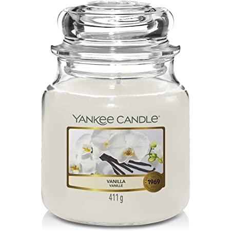Bougie Vanilla moyenne jarre