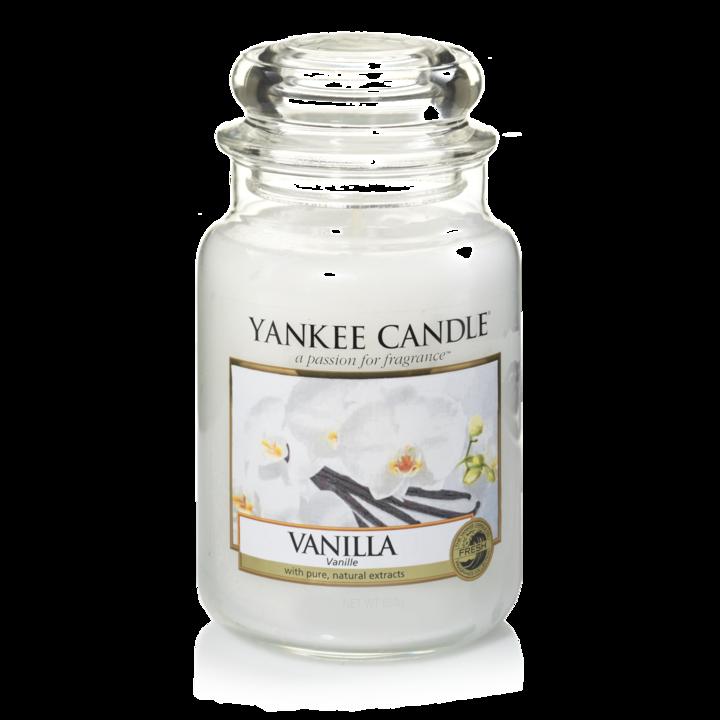 Bougie Vanilla grande jarre