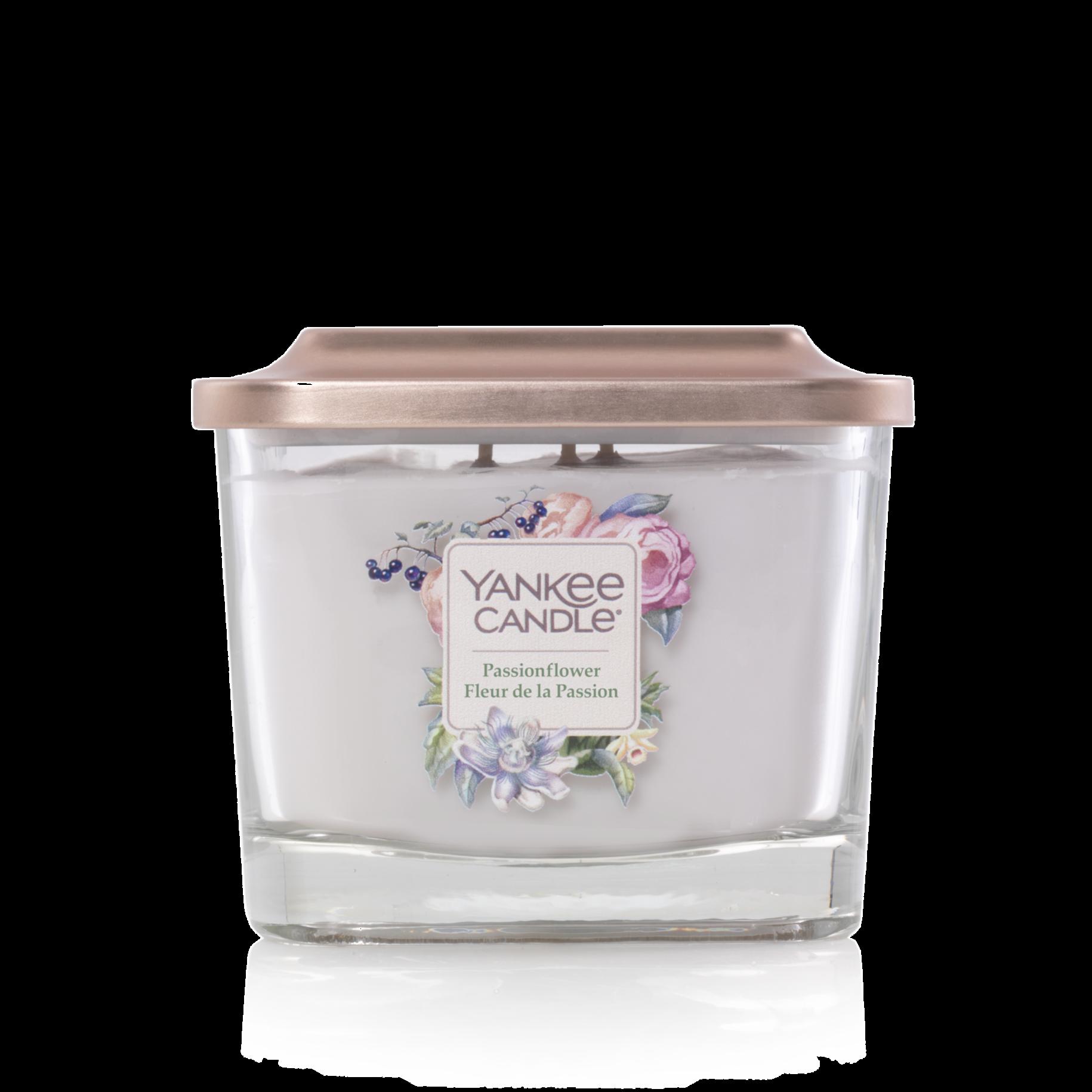 Bougie Fleur De La Passion moyenne jarre (gamme Elevation)