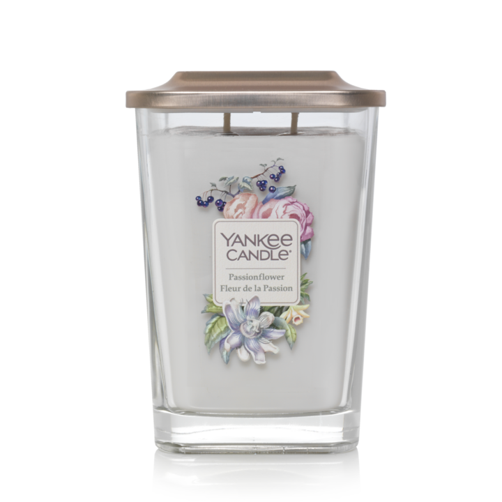 Bougie Fleur De La Passion grande jarre (gamme Elevation) - Yankee Candle