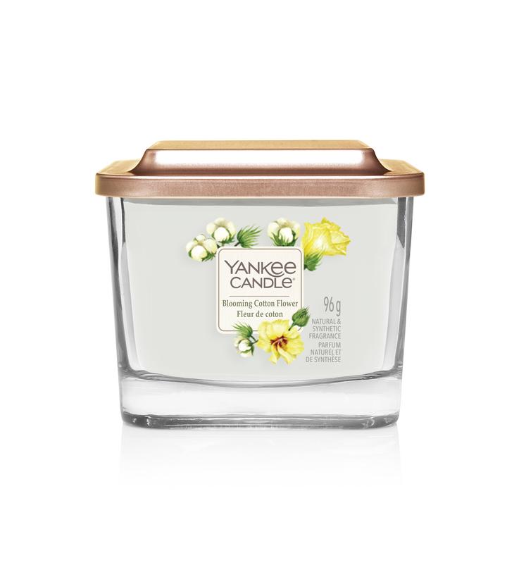 Bougie Fleur De Coton petite jarre (gamme Elevation)