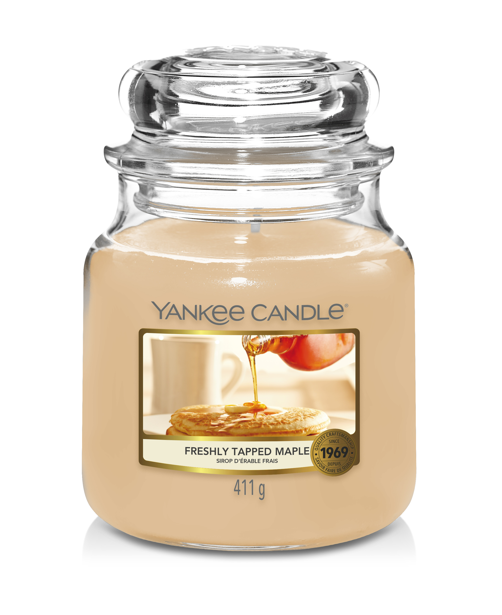 Bougie Freshly Tapped Maple moyenne jarre