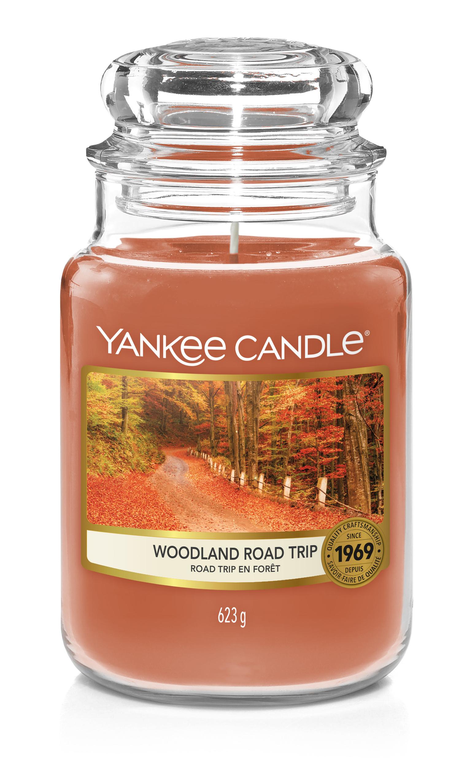 Bougie Woodland Road Trip grande jarre