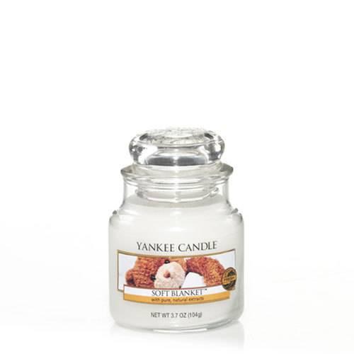 Bougie Soft Blanket petite jarre - Yankee Candle