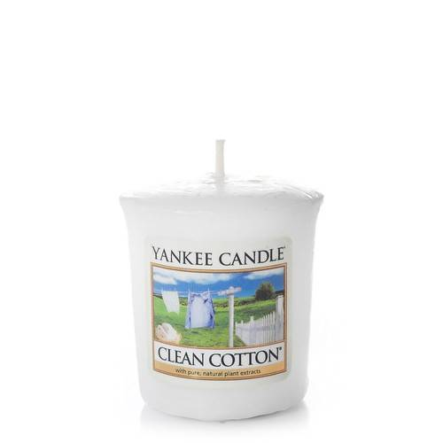 Bougie Clean Cotton votive - Yankee Candle