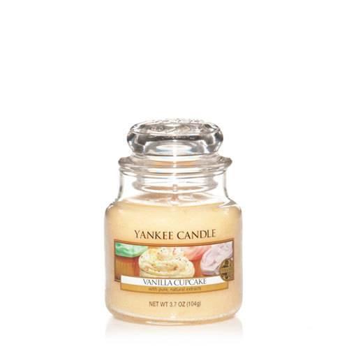 Bougie Vanilla Cupcake petite jarre - Yankee Candle