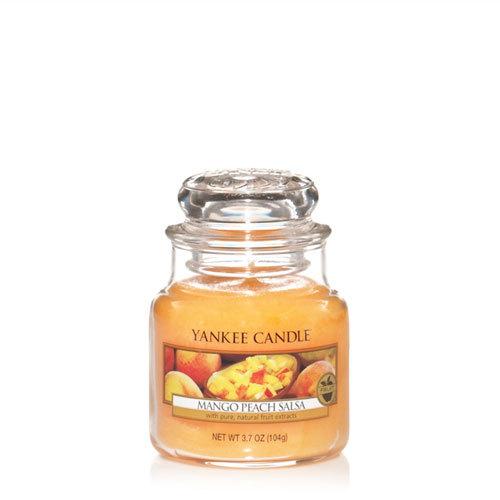 Bougie Mango Peach Salsa petite jarre - Yankee Candle
