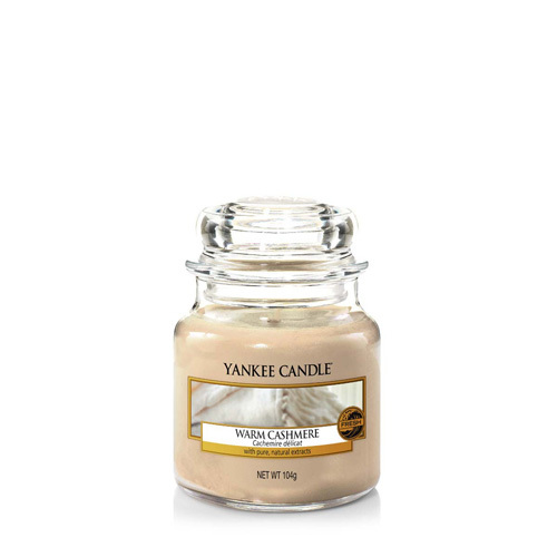 Bougie Warm Cashmere petite jarre - Yankee Candle