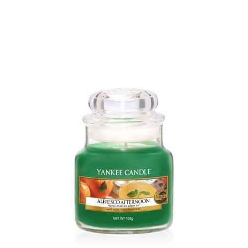 Bougie Alfresco Afternoon (Après-Midi En Plein Air) petite jarre - Yankee Candle