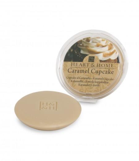 Galet de cire parfumé Caramel Cupcake 26g - Heart & Home