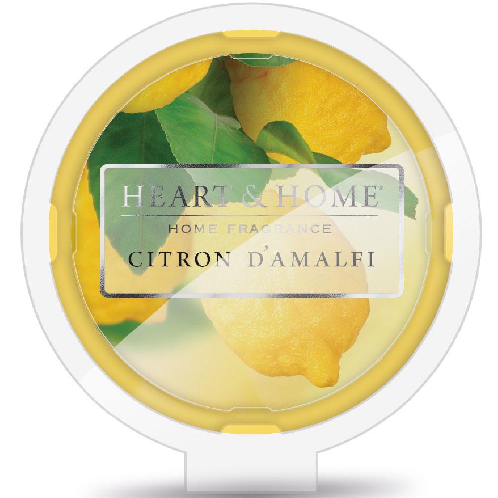 Galet de cire parfumé Citron D'Amalfi 26g - Heart & Home