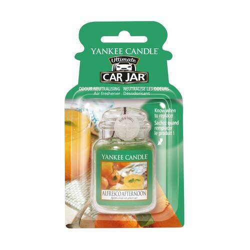 Car Jar Ultimate Alfresco Afternoon - Yankee Candle
