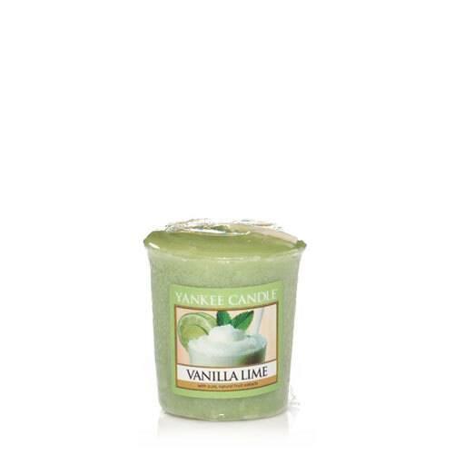 Bougie Vanilla Lime votive - Yankee Candle