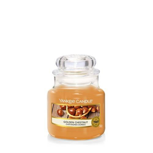 Bougie Golden Chestnut petite jarre - Yankee Candle