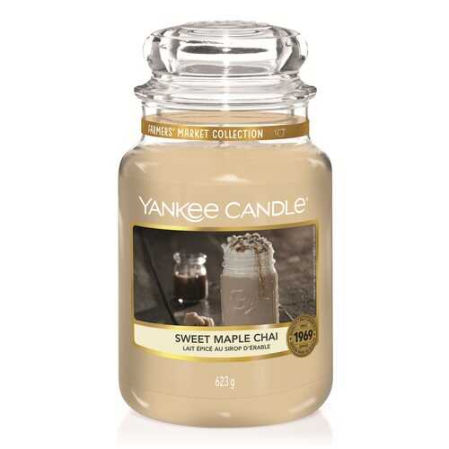 Bougie Sweet Maple Chaï grande jarre - Yankee Candle
