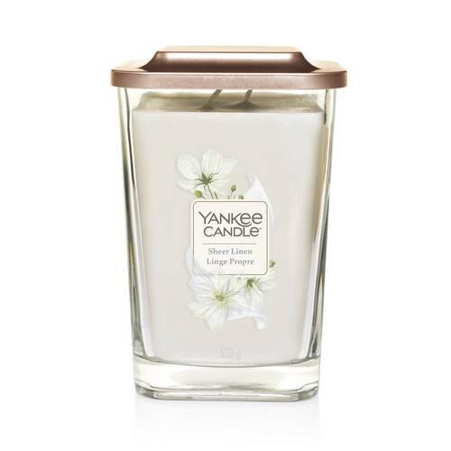 Bougie Linge Propre grande jarre (gamme Elevation) - Yankee Candle 1
