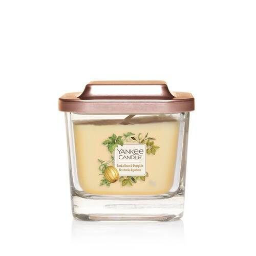 Bougie Fève Tonka & Potiron petite jarre (gamme Elevation) - Yankee Candle 1