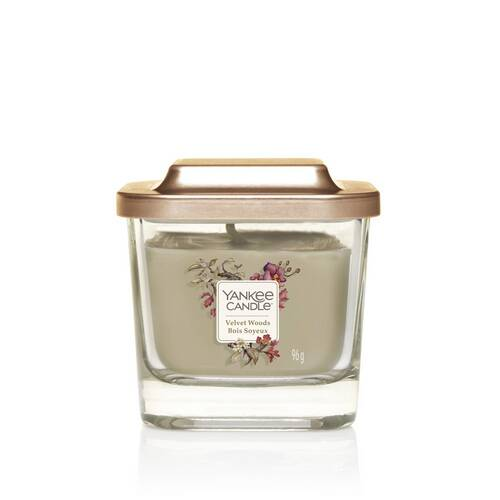 Bougie Bois Soyeux petite jarre (gamme Elevation)