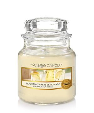 Bougie Homemade Herb Limonade petite jarre - Yankee Candle