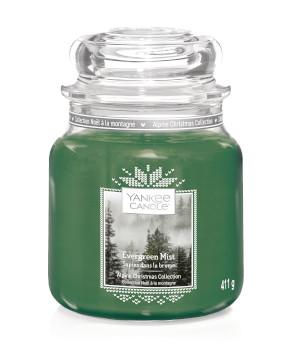 Bougie Evergreen Mist moyenne jarre