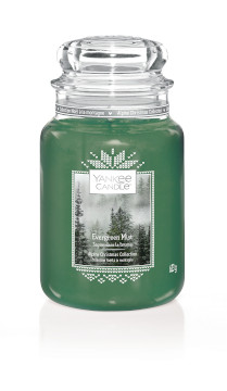 Bougie Evergreen Mist grande jarre