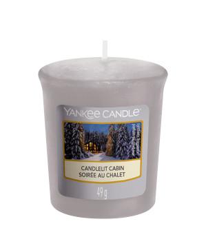 Bougie Candlelit Cabin votive - Yankee Candle