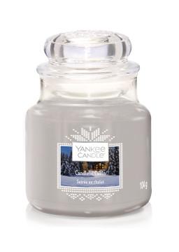 Bougie Candlelit Cabin petite jarre - Yankee Candle