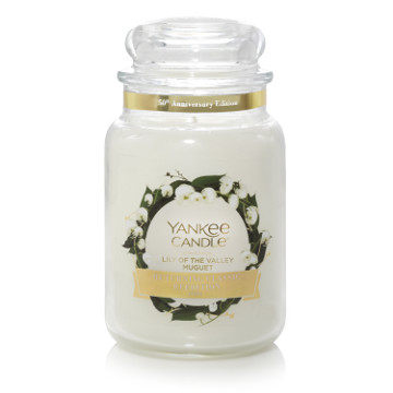 Bougie Lily Of The Valley grande jarre - Yankee Candle