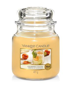 Bougie Calamansi Cocktail moyenne jarre - Yankee Candle