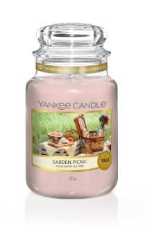 Bougie Garden Picnic grande jarre