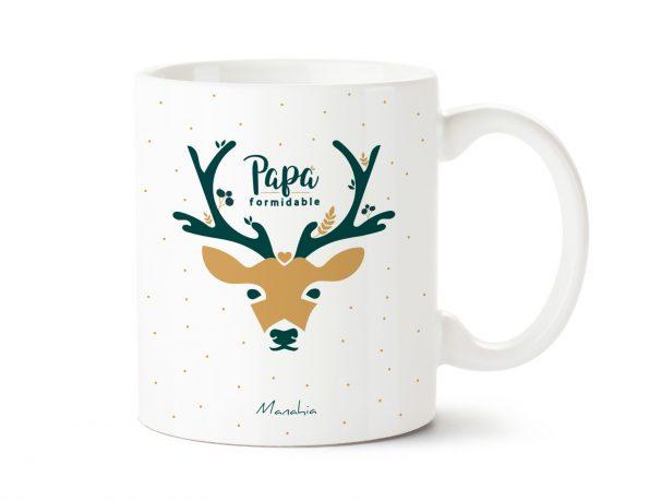 Mug cerf Papa formidable 1