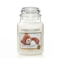 Bougie Soft Blanket grande jarre