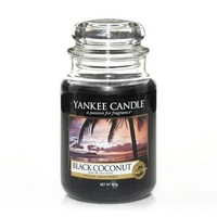 Bougie Black Coconut grande jarre