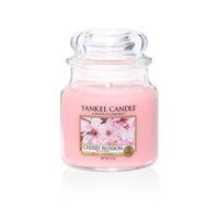 Bougie Cherry Blossom moyenne jarre