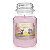 Bougie Floral Candy grande jarre