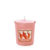 Bougie White Strawberry Bellini votive